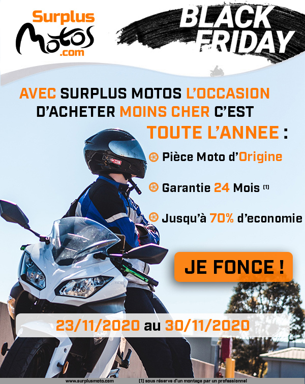 Explorez l'univers Surplus Motos