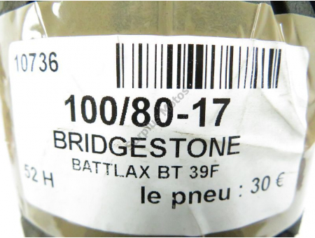 BRIDGESTONE BATTLAX BT 39F BRIDGESTONE
